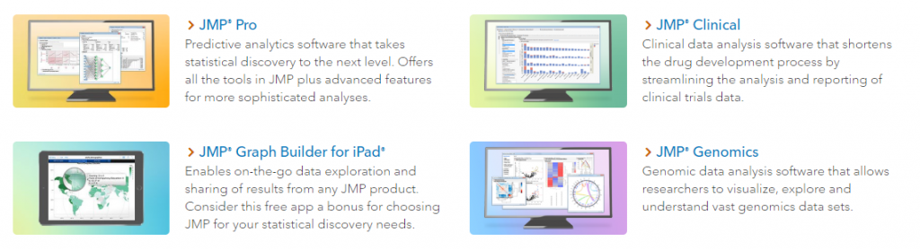 JMP Data analysis software in Australia